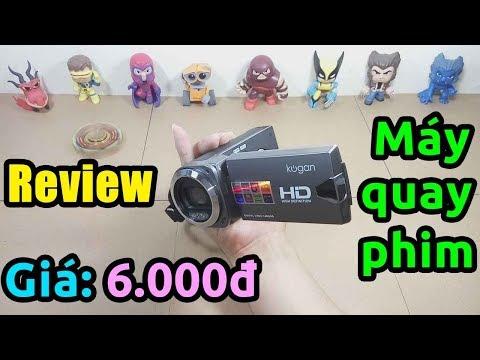 Mở hộp máy quay phim giá 6.000đ săn sinh nhật Lazada