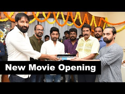 Gopi Chand New Movie Opening Event
