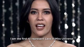Souphaphone Somvichith Miss Universe Laos 2017 Introduction Video