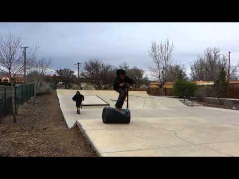 Morenci Kids 02 - Skatepark - Silver City
