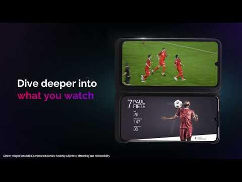 LG G8X ThinQ™ Dual Screen - Dive Deeper into Sports [Standard Version] | LG USA Mobile