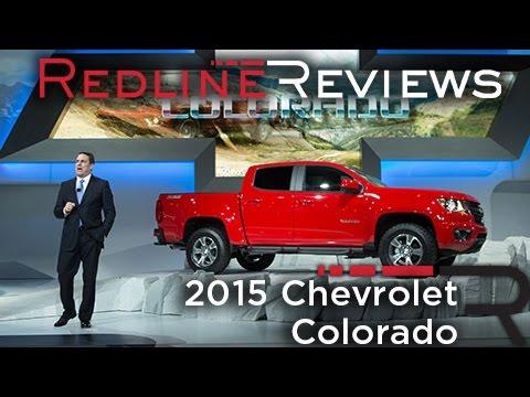 2015 Chevrolet Colorado - 2013 Los Angeles Auto Show