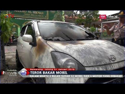 Warga Semarang Resah Teror Pembakaran Mobil, 12 Kendaraan Dibakar Orang Tak Dikenal - BIM 31/01