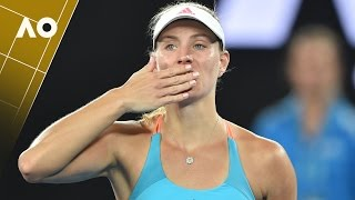 Angelique Kerber on court interview (1R) | Australian Open 2017