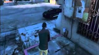 GTA 5 Eminem Parking Lot Skit