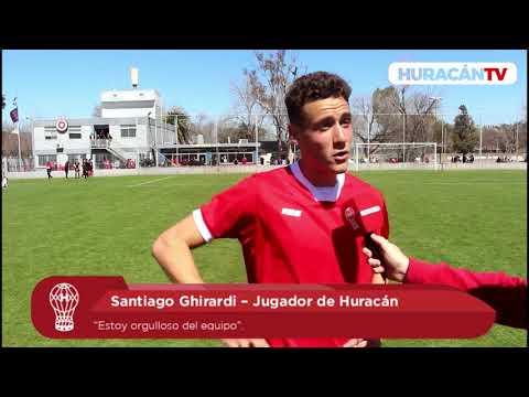 Ghirardi: «Estoy orgulloso del equipo»