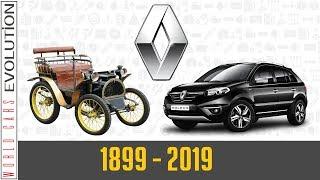 W.C.E - Renault Evolution (1899 - 2019)