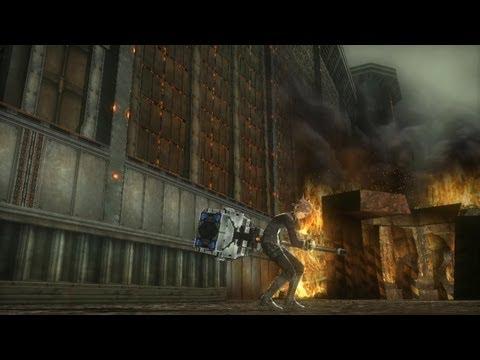 Burst Hammer Gameplay 1 de God Eater 2