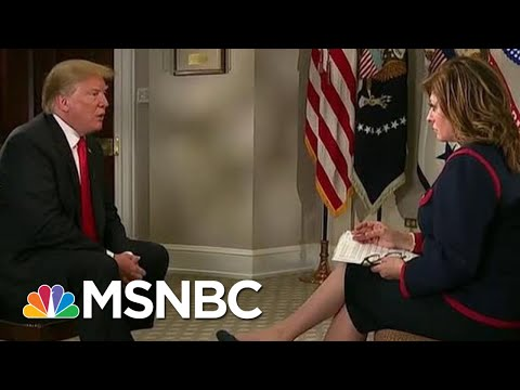 'I Wouldn't Even Know About That, Donald Trump On Netanyahu's Re-Election | Velshi & Ruhle | MSNBC