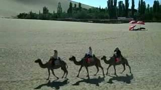 Video : China : DunHuang and the Gobi Desert - video