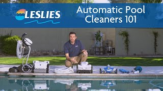 Automatic Pool Cleaners 101   A #HowTo Guide from Leslie's
