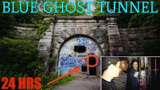 SNEAKING INTO WORLDS MOST HAUNTED ABANDONED TUNNEL (We Found This...)