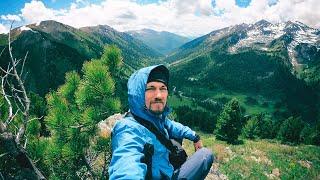 Недельный поход по горам Алтая. Дебри Теректинского хребта