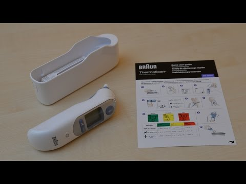 Braun IRT6520 Thermo Scan 7 Infrarot Ohrthermometer Unboxing & Review