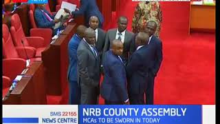 Cause of delay for Nairobi county assembly swearing of MCA's