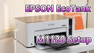 Our New Office Printer: Epson EcoTank M1120 WiFi Printer