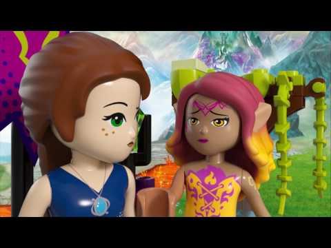 Vidéo LEGO Elves 41179 : Le sauvetage de la Reine Dragon