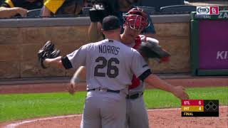 Bud Norris Is Embracing His New Home In St. Louis