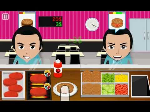 Video of Burger Cooking Game