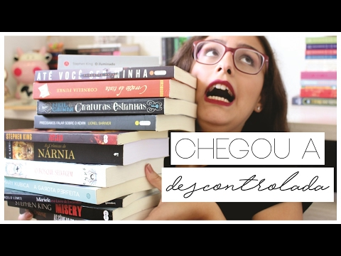 BOOK HAUL DE DEZEMBRO E JANEIRO (Muitos livros!)
