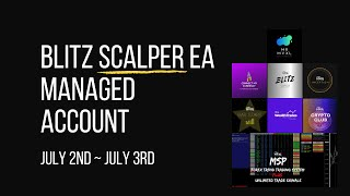 BLITZ SCALPER EA PERFORMANCE JULY 2ND – JULY 3RD 2020