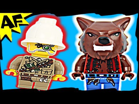 Vidéo LEGO Monster Fighters 9463 : Le loup-garou