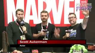 Scott Aukerman Chooses a Side on Marvel LIVE! at San Diego Comic-Con 2015