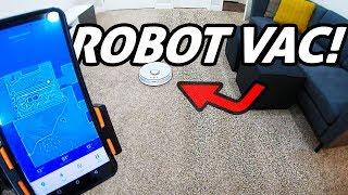 SWEEP + MOP Robot Vacuum! Roborock S5 REVIEW (2nd Gen Xiaomi Mi Vac)