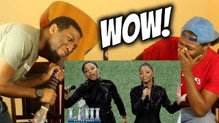 Beyonce's Proteges Chloe X Halle Sing America The Beautiful (WE CRIED!!) Super Bowl LIII NFL Pregame