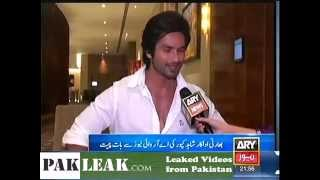 Kya Shahid Kapoor Muslim Hai he Praises Atif Aslam    الدليل على ان شاهد كابور مسلم