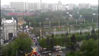 Колесо обозрения, Парк Горького, Москва 2012