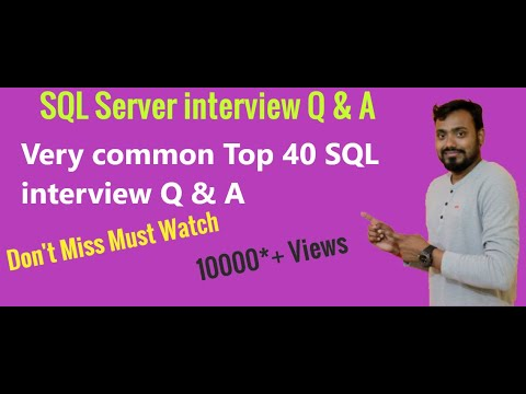 Top 20 SQL interview questions and answers 2020 | sql practice