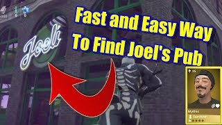 Fortnite Save The World - How To Find Joel's Pub Location