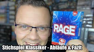 Ist Rage das beste bzw. bekannteste Stichspiel? Abläufe und Fazit (Amigo Spiele - ab 10 Jahre)