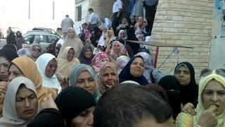 preview picture of video 'اضراب اداريو التربيه والتعليم بشمال سيناء'
