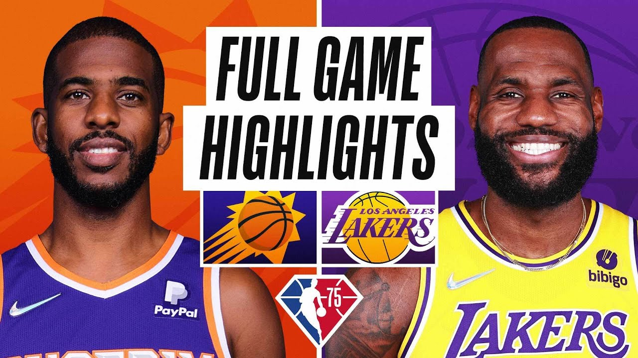 SUNS at LAKERS | FULL GAME HIGHLIGHTS | October 22, 2021