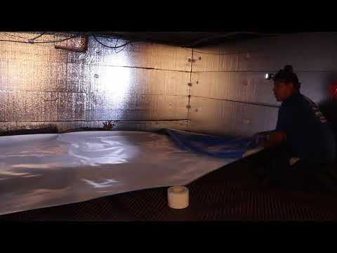 Dirty Crawl Space Transformed in Toms River, NJ