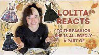 Lolita Fashion Enthusiast Reacts To Lolita Fashion