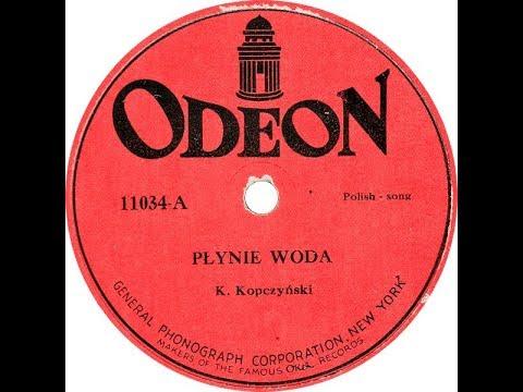 Polish 78rpm recordings, 1921. ODEON/Okeh 11034. Płynie woda / Pije Kuba do Jakuba