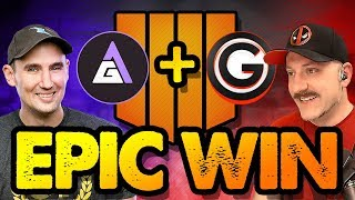 EPIC BLACKOUT DUO WIN! // Featuring GameAttack // COD Black Ops 4 // PS4 Pro