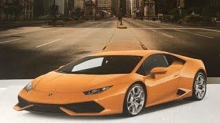3D CAR ON PAPER!!