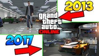 РАЗНИЦА МЕЖДУ GTA ONLINE 2013 И GTA ONLINE 2017 !!!