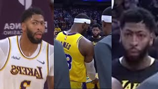 """Anthony Davis YELLS AT Lebron James OVER TEAM ROLES ! """"YOU NEED ME!"""""""