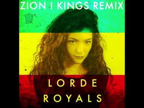 Download Lorde Royals Zion I Kings Reggae Remix Video 3GP Mp4 FLV HD