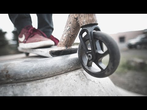 SUPER EPIC SCOOTER CINEMATICS  |  Our Trip to Columbia River Gorge Skateparks