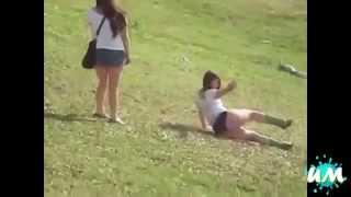Видео приколы про пьяных девушек   видео приколы ржачные