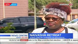 Some Jubilee Party MPs are in Naivasha to deliberate on BBI report