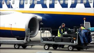 preview picture of video 'Liverpool Airport Baggage Handlers'