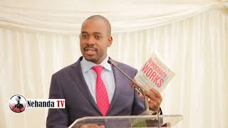 Nelson Chamisa SPEECH at launch of book by Tendai Biti and Olusegun Obasanjo