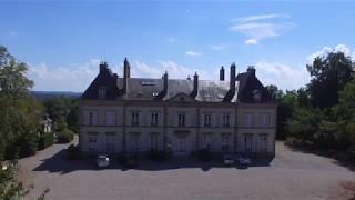 Les Ecuries du Château d'Ygrande en Drone